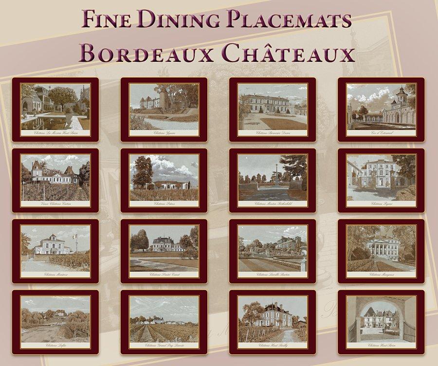 Châteaux Placemats